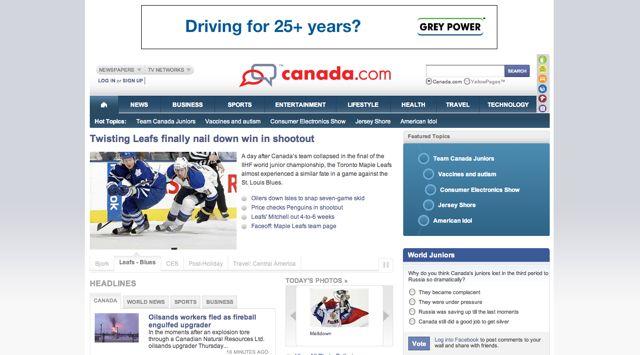 Canada.com Visual 2001