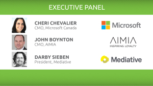 Executive Panel of Art of Marketing, Montreal